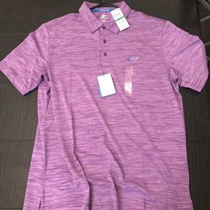 New Large Purple Greg Norman Golf Polo